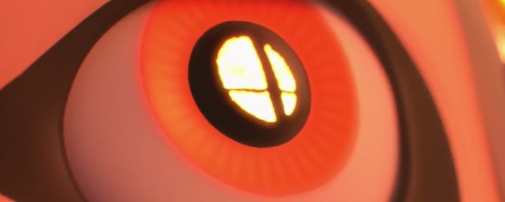 Smash Bros. Switch eye